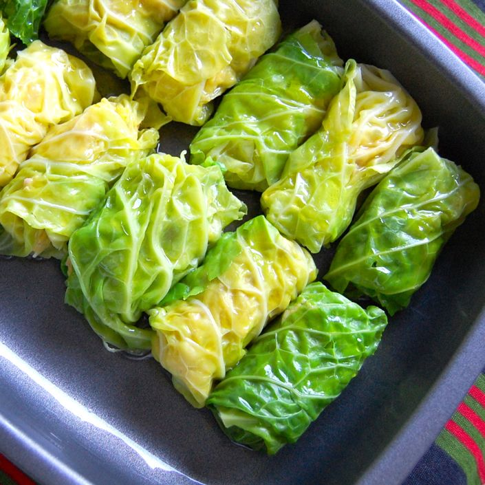 Pork stuffed cabbage rolls | Pork | Pinterest