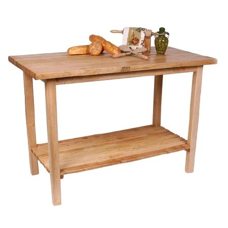 pinned this townhouse kitchen prep table from the family kitchen