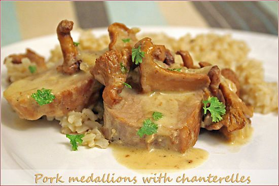 Chanterelles With Pork | Food Worth Eating | Pinterest
