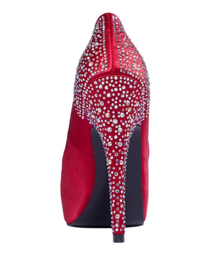 Steve Madden Women's Shoes, Playy-R Peep Toe Pumps
