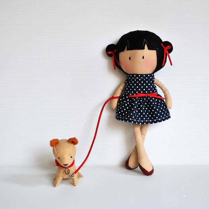 Мой маленький крошечный Кукла Мэй и Olly