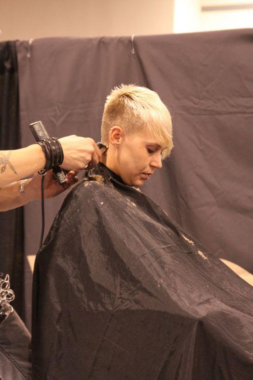 Nape+Clipper+Cut+for+Women's | clippered nape clippering undercut ...