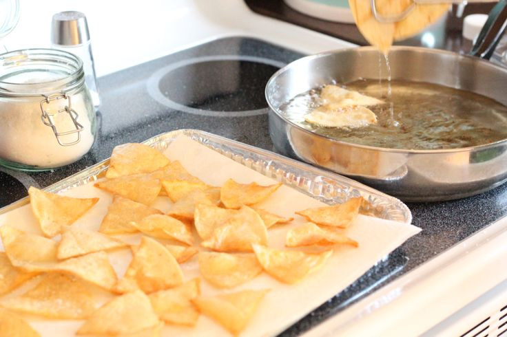 Easy Homemade Tortilla Chips | Eat Me! :) | Pinterest