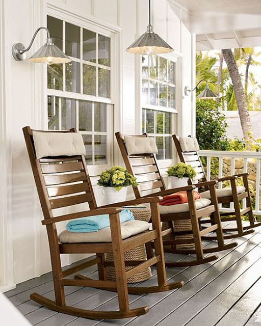 Front porch rockers front porches pinterest for Chairs for front porch