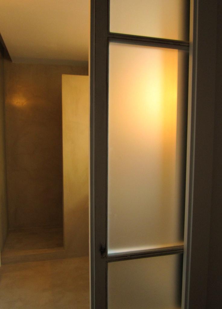 Baños De Microcemento:raddi arquitectes baño de microcemento