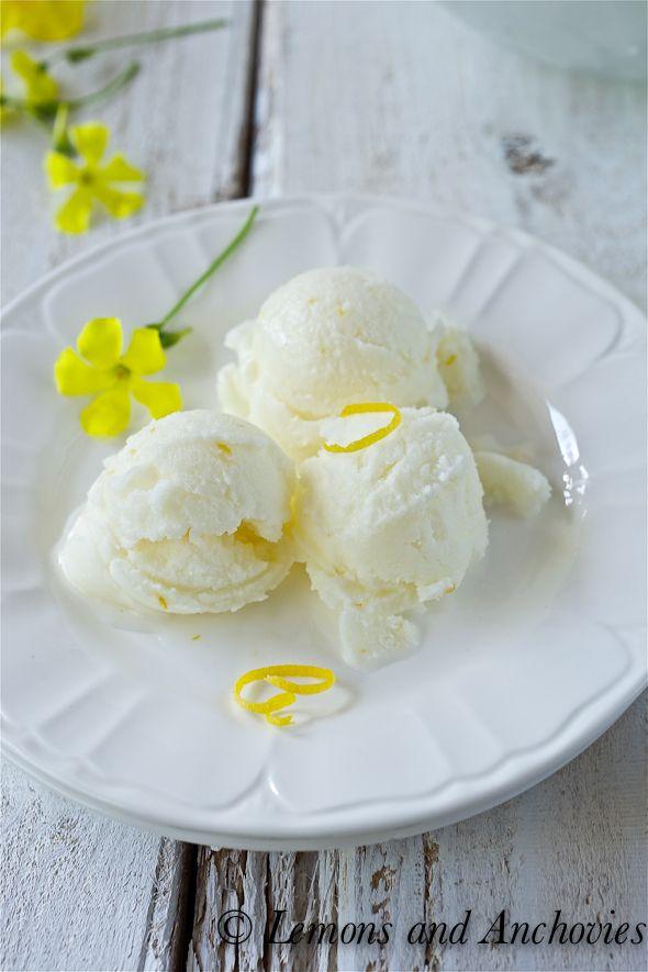 Lemon Buttermilk Sorbet | Sweet Tooth | Pinterest