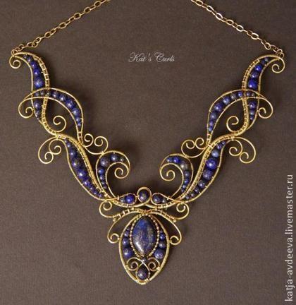 Узоры для ожерелья