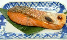 Sake no shio-yaki (slat grilled salmon). **** Save recipes from ...