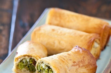 Broccoli Spanakopita | Food | Pinterest