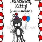 Birthday Kitty Cat Clipart | Clip Art | Pinterest