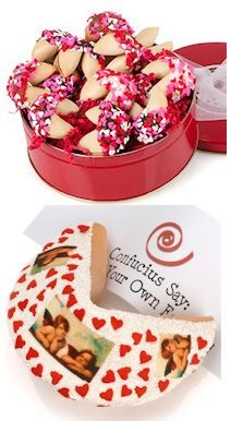 valentine fortune cookie notes