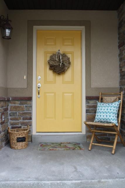 Adorable Diy Front Door Home Sweet Home Pinterest
