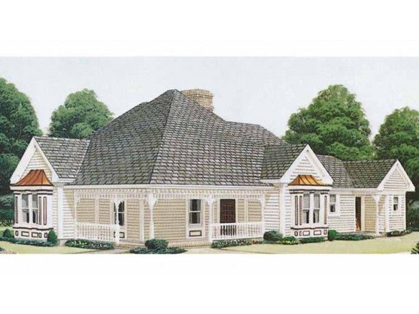 Queen Anne House Plans/DHSW73960 | Home Plans | Pinterest: pinterest.com/pin/123778689730687979