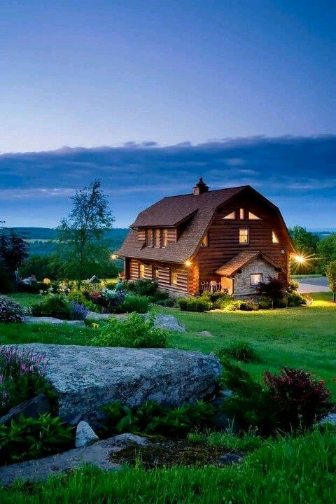 Barn Conversion Log Home For The Home Pinterest