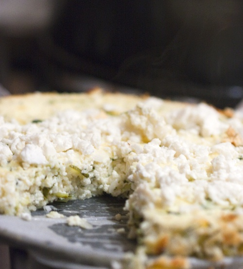 Zucchini Ricotta Cheesecake | Favorite Recipes | Pinterest