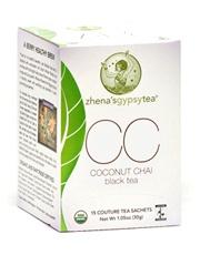 Coconut Chai in eco-friendly bags
