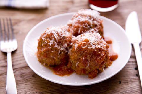 Frankies Meatballs | Food Bites! | Pinterest