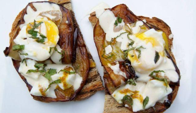 homemade sabich sandwich. | food i love | Pinterest