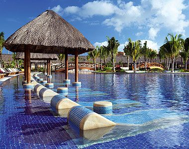 Riviera Maya Barcelo Palace for my sister in law's wedding in 2012.