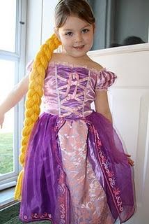 rapunzel yarn hair piece tutorial