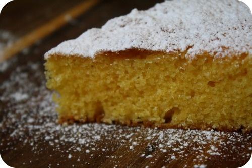 Almond Cornmeal Cake | Cakes | Pinterest