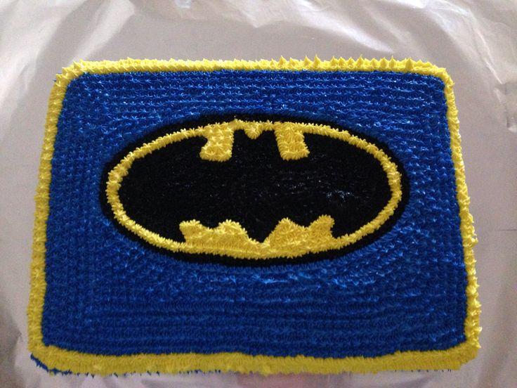 Batman birthday cake!  Boys Birthday  Pinterest
