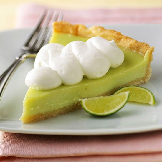 "Key Lime Tart - great with a coconut cookie ""graham cracker"" crust ..."