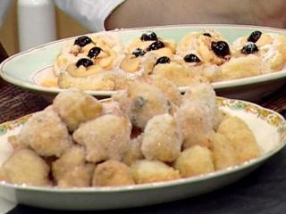 Receta Donato de Santis:Bunuelos fritos, Zeppole di San Giuseppe y Grispelle