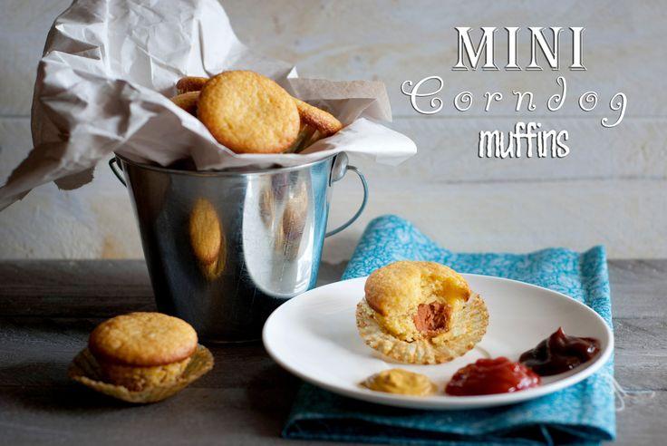 Bite size mini corn dog muffins | Recipes | Pinterest