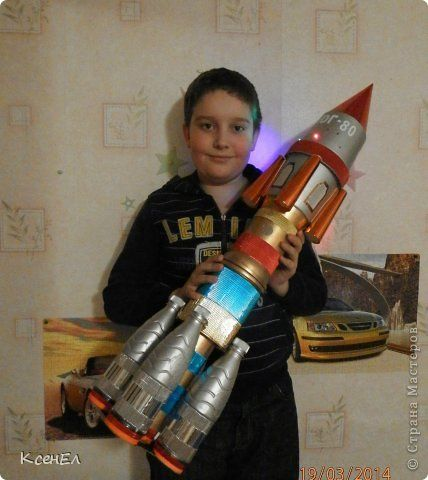 Мастер класс ракета своими руками 50