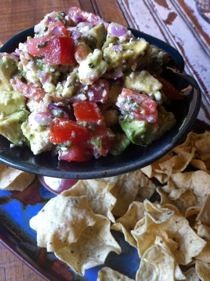 Avocado Feta Dip | Party Food | Pinterest