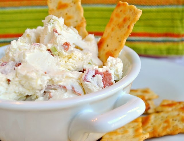 Parmesan, Onion, and Bacon Cream Cheese Dip