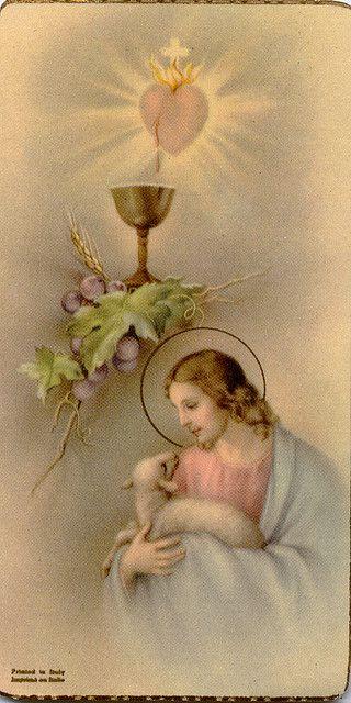 Vintage Prayer Card <3