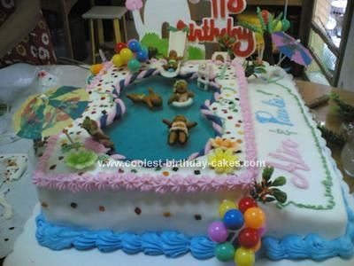 Coolest Swimming Pool Party Cake 45