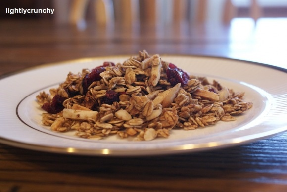 Pumpkin Pie Granola - use rapadura | Whole Food Recipes | Pinterest