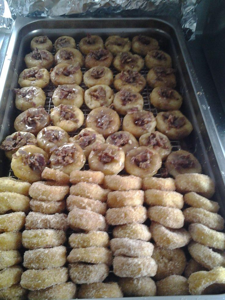 Maple bacon mini donuts yummy UFK | UFK Mini Donut Trailer | Pintere ...