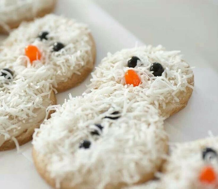 Coconut Snowmen Recipes — Dishmaps