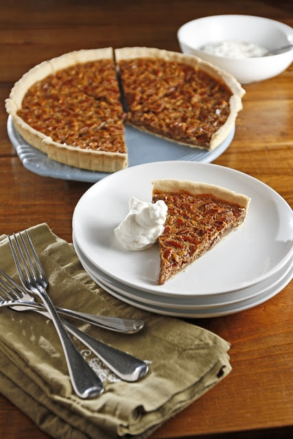 Bourbon Pecan Tart - Lacey made this for Thanksgiving - YUM!