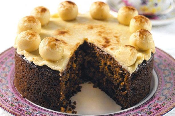 Simnel Cake Recipe. #dessert | Dessert | Pinterest