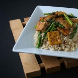 Tofu Stir-Fry with Asparagus   Get in My Belly!   Pinterest