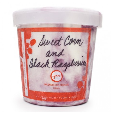Sweet corn and black raspberry ice cream by Jeni's Splendid Ice Cream ...