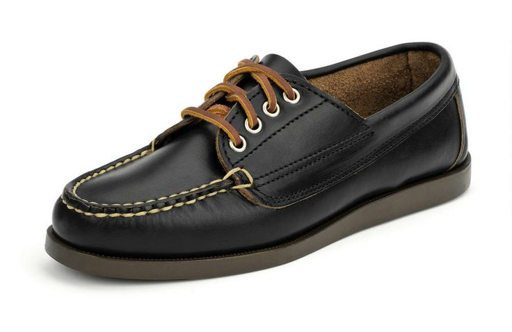 Women's Falmouth USA Camp Moc Oxford - Black #eastlandshoe