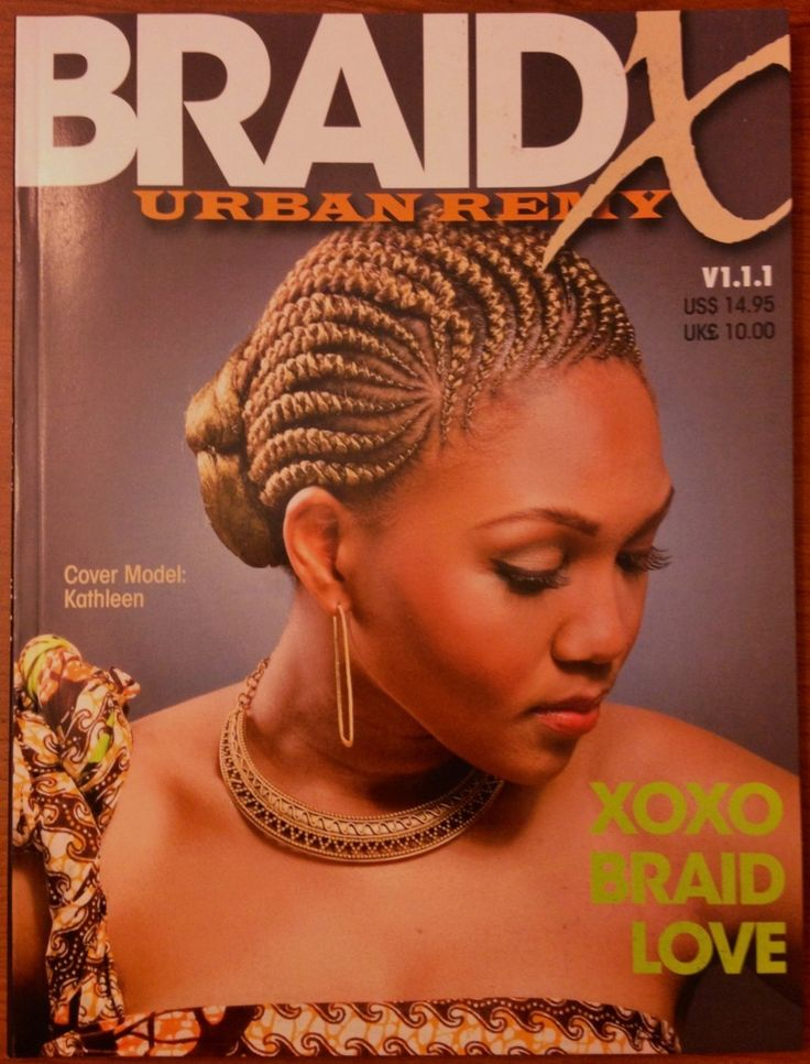 21 Styles Black Braided coiffure magazine
