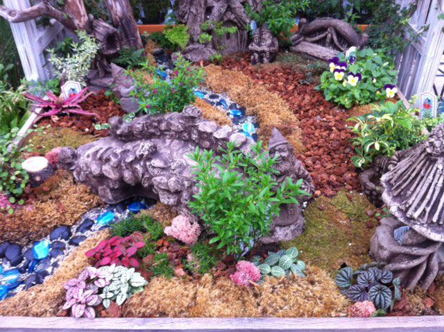 This Mini Garden Is For Gnomes Favorite Places Spaces
