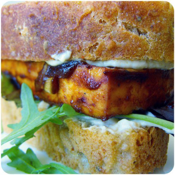Harissa BBQ baked tofu | tofu, seitan, soja | Pinterest
