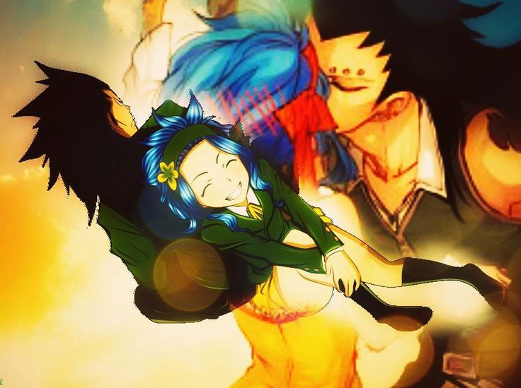 gajeel x levy gale special pinterest