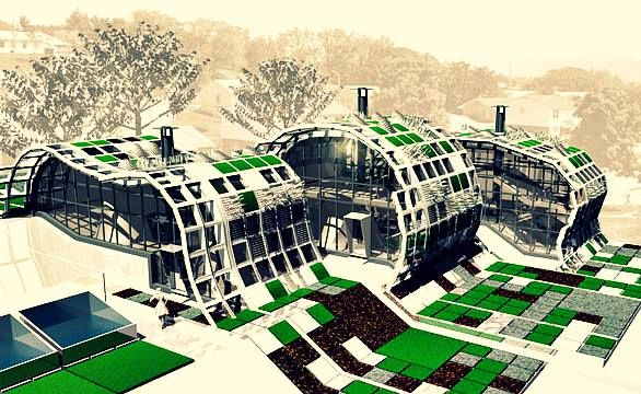 Arquitectura sustentable green architecture pinterest for Arquitectura prehistorica