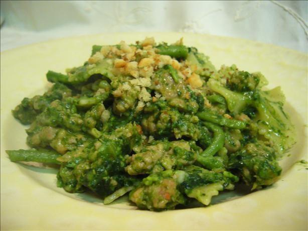 Orecchiette With Broccoli Rabe And Spicy Sausage Recipe - Food.com ...