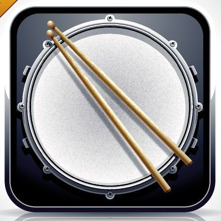 ... Drum Vector App Icon | Free Web/Graphic Design Resources | Pin: pinterest.com/pin/395331673510294494