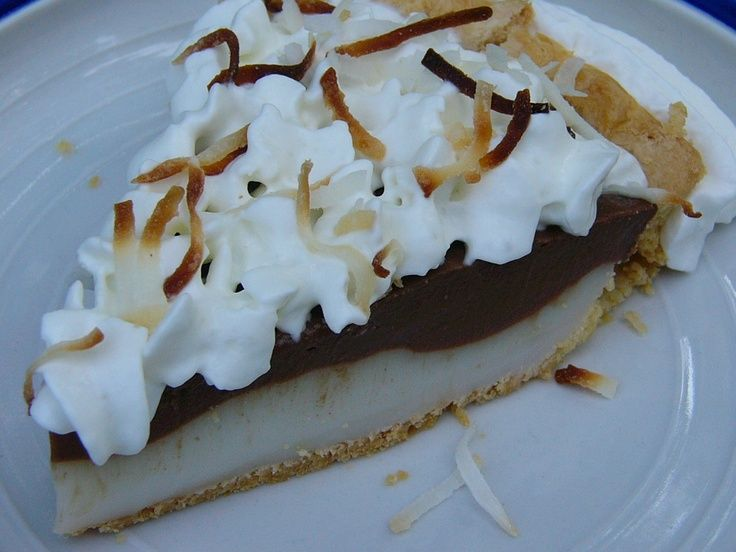 Chocolate Haupia Pie | Yummerz | Pinterest